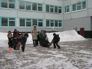 Зимний пришкольный лагерь