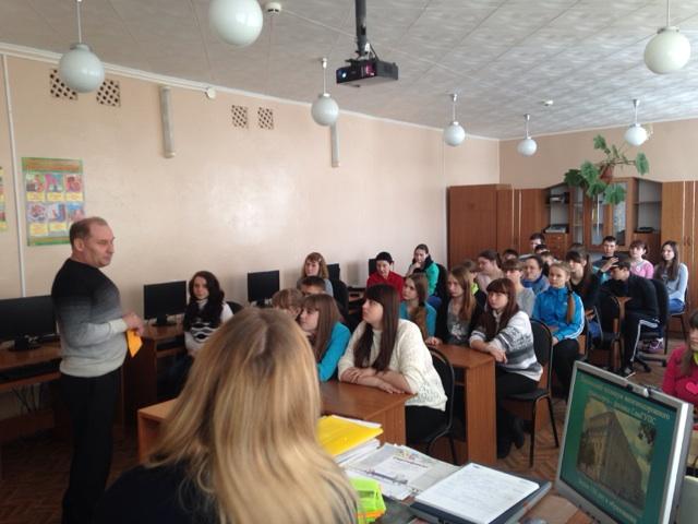 Встреча учащихся 9-х классов с представителями Пензенского техникума железнодорожного транспорта