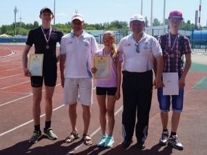 Команда МБОУ СОШ №4 победила в соревновании по спортивной ходьбе